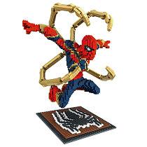 Marvel lego Building Block Bricks Toy Superman Iron man Avenger Puzzling kid gift