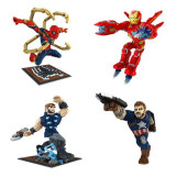 Marvel lego Building Block Bricks Toy Superman Iron man Avenger Puzzling kid gift