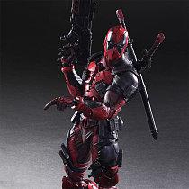 Cool Deadpool Cosplay X-Men Action Figure GARAGE KIT GK PVC Model Kit Doll Toy