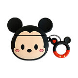 3D Mickey Minnie Airpods Case Disney wireless Bluetooth silicone earphone cover