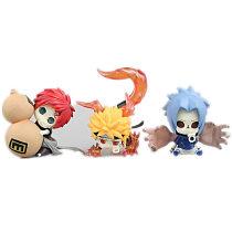Naruto Uzumaki Action Figures Sasuke Gaara GARAGE KIT GK PVC Model Kit Collection