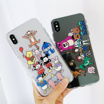 Toy Story Disney iPhone Case Transparent Tpu iPhone X XS MAX XR 7 8 Plus Cover