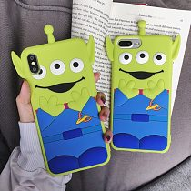 Toy Story Alien iPhone Case Silicone iPhone X XS MAX XR 7 8 Plus Cover