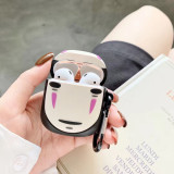 3D Spirited Away Airpods Case No Face Man Apple Airpods 1 2 Silicone Protection Cover
