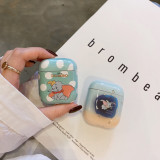 Cute Dumbo Airpods Case Pvc Shockproof Apple Earphone Protection Case Cover
