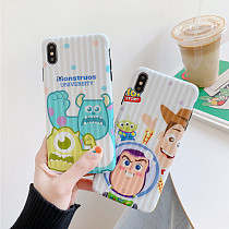 Monsters University iPhone Case Soft Silicone Cartoon iPhone X XS MAX XR 7 8 Plus Cover