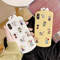 Snoopy iPhone Case Cartoon Papa Soft TPU iPhone X XS MAX XR 8 7 plus Cover