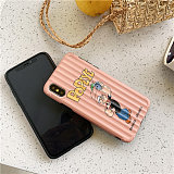 Popeye Apple phone case iphone xs max &xr 6/7/8plus protection shell