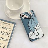 Bugs bunny apple case iphone XS/XS Max/XR/X/7p/6 cartoon shell