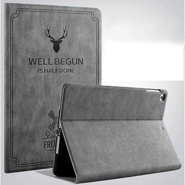 Retro style  iPad Air 1 2 5 6 Case Deer Magnetic Stand PU Leather Case  New iPad 9.7 Funda Coque