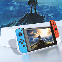 Crystal transparent Nintendo Switch case NS pluggable base multi-card slot whole protective cover