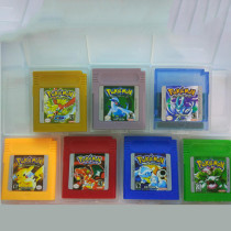 GB series GBC game card 7 classic hot sale Pokemon Game