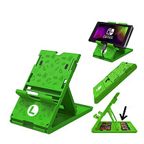 Switch bracket green Mario Nintendo switch accessories with game cassette