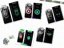 Marvel luminous mobile phone case Samsung application