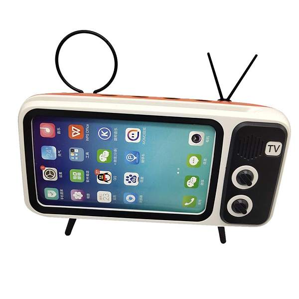 salaheiyodd Portable Wireless Bluetooth Speaker with Cell Phone Stand Holder