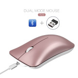 Wireless mouse Bluetooth silent design portable computer accessories