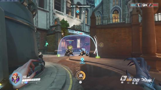 Switch Version Of Overwatch 12 Minutes Real Machine Demonstration