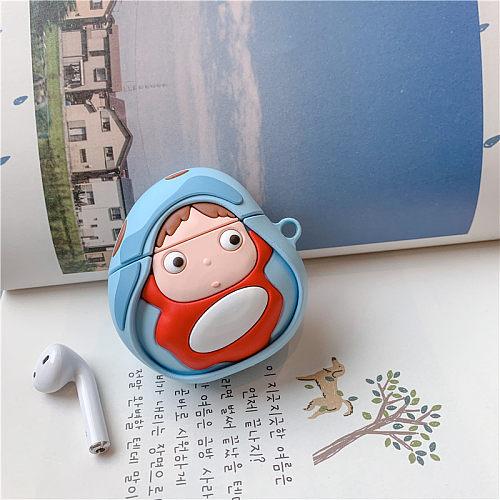 Buy 3d Cartoon Ponyo Airpods Pro Case Apple Wireless Bluetooth