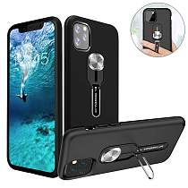 Magnetic Case for iPhone 11 with Finger Strap and holder kickstand