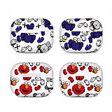 Kaws sesame street airpods pro case Tide brand Apple wireless Bluetooth headset protective cover