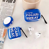 Pocari creative drink airpods pro case apple carabiner protective shell