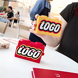 LEGO Airpods Pro Case Apple 3rd Generation Wireless Bluetooth Headset Cover