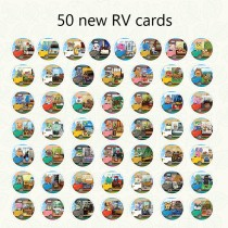 animal crossing Amibo Card NEW RV card full set of 50 animals senzelda wilderness interest Mario Odyssey fight and spray