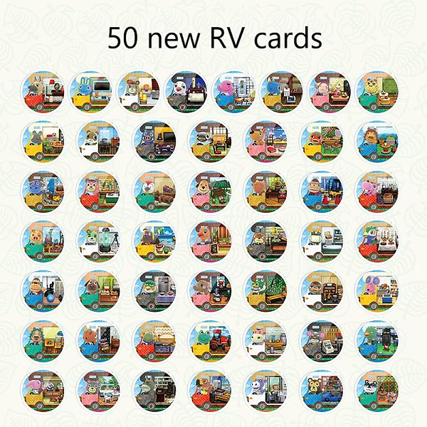 animal crossing Amibo Card NEW RV card full set of 50 animals senzelda wilderness interest Mario Odyssey fight and spray
