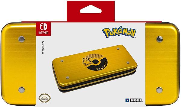 Super Mario Pikachu Nintendo Switch Alumi Storage Protective Case
