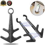 Anchor Cell Phone Holder Strong Magnetic Retro Phone Stand Desk  Mini Portable Tablet Bracket