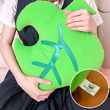 Animal Crossing Green Leaf Plush Plushie Toy Pillow Home Decoration