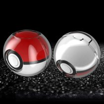 Hard Crystal Protective Cover for 2018 Pokemon ball Controller,Anti-Scratch Shock  for Nintendo Switch Pokemon Lets Go Pikachu Poke Ball- [Clear]