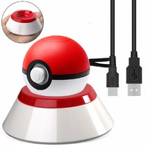 Charger Stand for Nintendo Pokeball Plus Controller,Charging Stand with USB Charger Cable