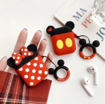 Mickey Minnie Apple AirPods Silicone Bluetooth Headset Personality Creative Cover