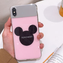 Mickey Iphone7 Case Anti-Scratch Mirror TPU All-Inclusive Mirror Cover