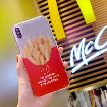 Apple iPhone7plus Cover Fries All Inclusive Drop-proof Transparent