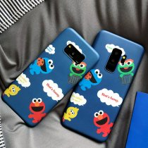 Sesame Street Samsung S9 phone case Silicone All Inclusive Soft Shell