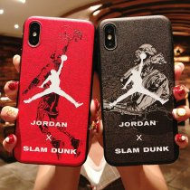 AJ Jordan Apple IphoneXSMAX Case Basketball Trapeze