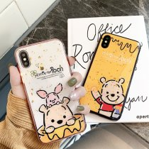Winnie The Pooh Apple iPhonexs/max/xr 8/7plus Phone Case