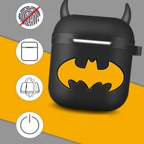 Batman Airpods Apple Wireless Bluetooth Headset Storage Box