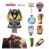 USB Flash Drives 16GB 32GB 64GB Avengers marvel Iron Man Quake Hammer Hulk  USB Flash Memory Stick
