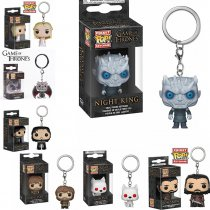 Game of Thrones Garage kit funko pop Jon Dragon mother night king garage kit keychain