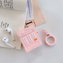 3D retro cellular phone AirPods case silicone ring lanyard Creative Earphone AirPods 1/2 case
