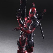 Cool Deadpool Cosplay X-Men Action Figure GARAGE KIT GK PVC Model Kit Doll Toy