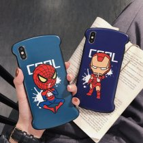 Marvel Iron Man iPhone Case Spider-Man iPhone X XS MAX XR 7 8 Plus Cover