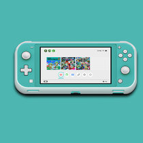 Candy color switch lite case accessory nintendo silicone protective cover