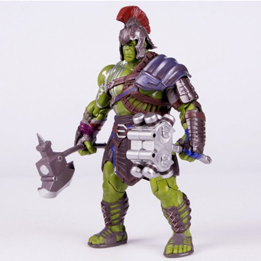 Marvel Hulk Action Figure Joint Movable Garage Kits Pvc Model Kit Doll Toy