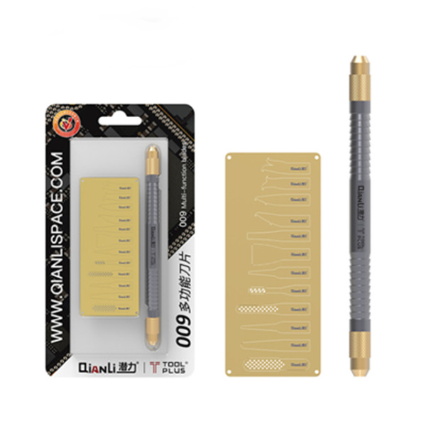 QianLi ToolPlus 009 - Multifunctional CPU IC Chip Glue Remove Knife Motherboard Repair Tool set