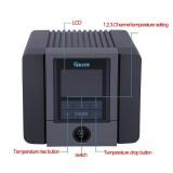 Quick TS1200A 220V 120W AU Plug Anti-Static Intelligent Lead-Free Fast Heating Tool Hot Air Gun Rework SolderingStation