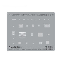 QianLi ToolPlus For iPhone6/6S/7/8 Universal 3D Positioning IC Rework Reballing stencil